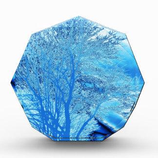 Iced Blue Tree Award