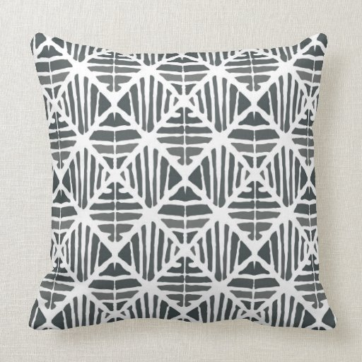 Iced coal large pattern throw pillow Zazzle