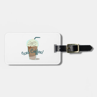 Iced Coffee Bag Tag