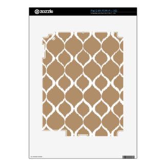 Iced Coffee Geometric Ikat Tribal Print Pattern Skin For The iPad 2