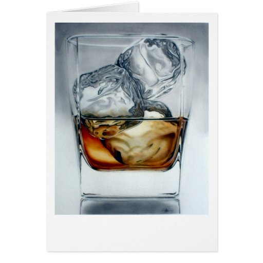 Iced Drink Greeting Card