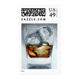 Iced Drink Postage Stamp