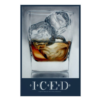 Iced Drink Poster