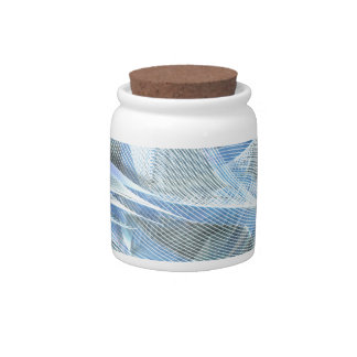 Iced Feather Blend Candy Jar