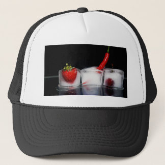 Iced food trucker hat