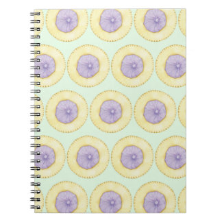 Iced Gem Biscuit Notepad - Mint Green Spiral Notebook