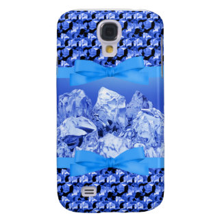 Iced Out Blue Sequin Samsung Galaxy S4 Case
