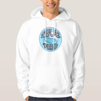 iced out thug world t hoodie