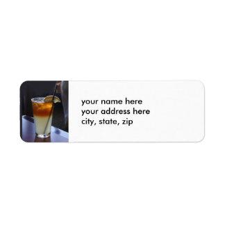 Iced Tea and Lemonade Label