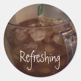 Iced Tea, Refreshing Sticker