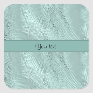 Iced Water Square Sticker