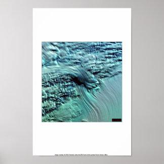 Icefall, Lambert Glacier, Antarctica Poster
