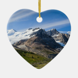Icefields Parkway Columbia Icefield Alberta Canada Ceramic Ornament