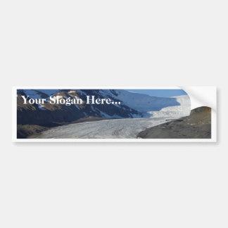Icefields Parkway Glaciers Snow Canada Car Bumper Sticker
