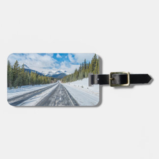 Icefields Parkway Luggage Tag