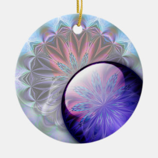 IceFire Abstract Ornament