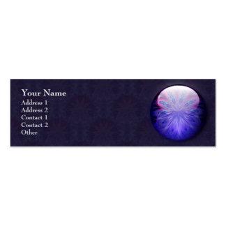 IceFire Jewel Profile Business Card