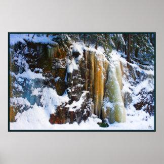Iceflow Rainbow Poster