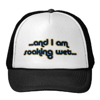 Iceglow mojado de impregnación gorras