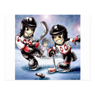 icehockey postcard