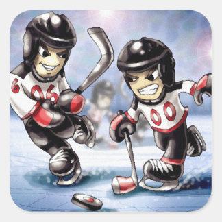 icehockey square sticker