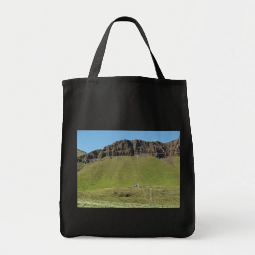 Iceland 1 tote bags