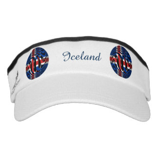 Iceland #1 headsweats visor