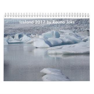 Iceland 2017 by Rauno Joks Calendar