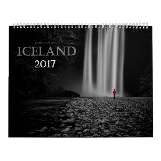 Iceland 2017 calendar