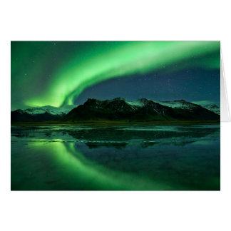 Iceland Aurora Greeting Card
