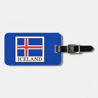 Iceland Bag Tag