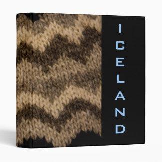 Iceland binder