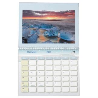 Iceland Calendar 2018