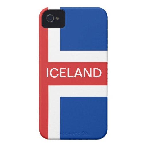 ICELAND BLACKBERRY CASE