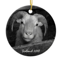 Iceland - Christmas ornament