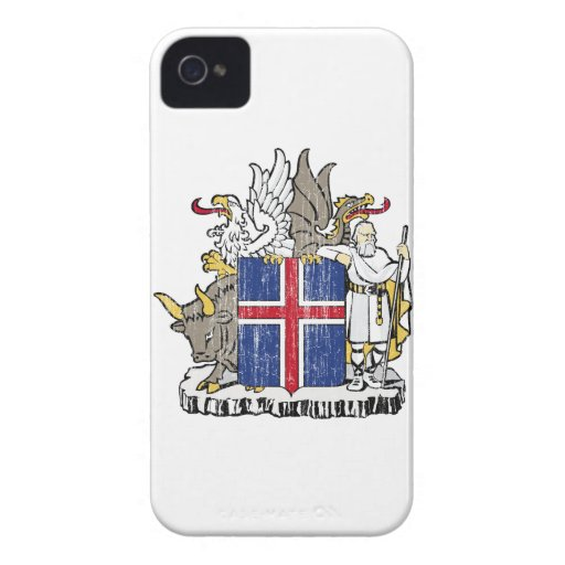 Iceland Coat Of Arms Blackberry Bold Covers