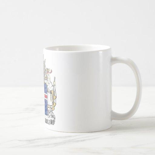 Iceland Coat Of Arms Coffee Mug
