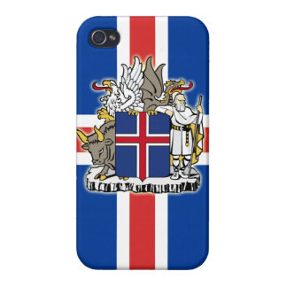 Iceland Coat of Arms iPhone Case
