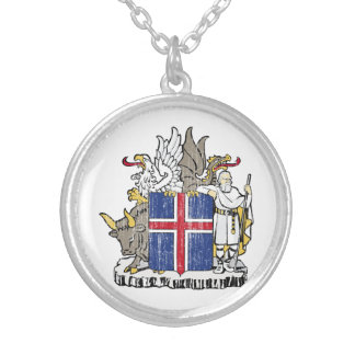 Iceland Coat Of Arms Pendants