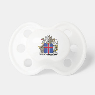 Iceland Coat of Arms Pacifier