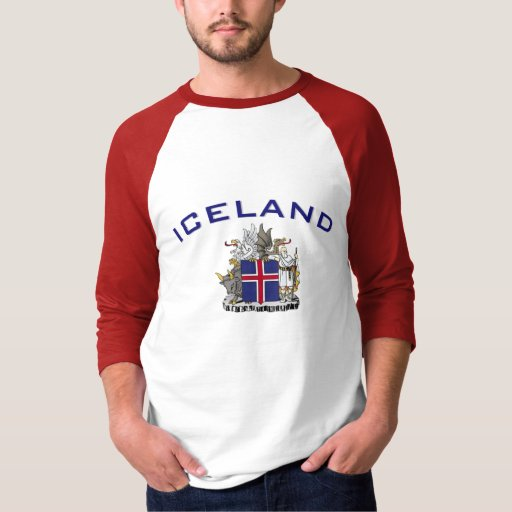 Iceland Coat of Arms Tee Shirt