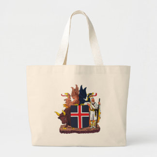 Iceland Coat of Arms Tote Bag