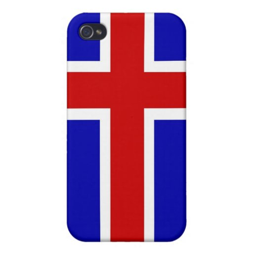 iceland country flag case iPhone 4 cover
