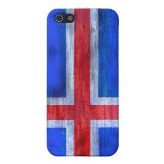 Iceland distressed Icelandic flag iPhone SE/5/5s Case