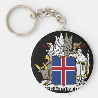 iceland emblem key chain