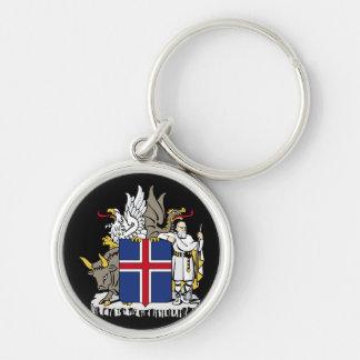 iceland emblem keychain