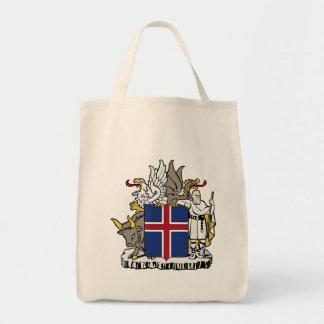 iceland emblem tote bag