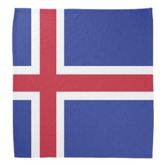 Iceland Flag Bandana