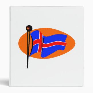 Iceland Flag Binders