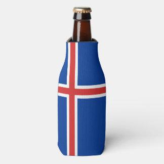 Iceland Flag Bottle Cooler